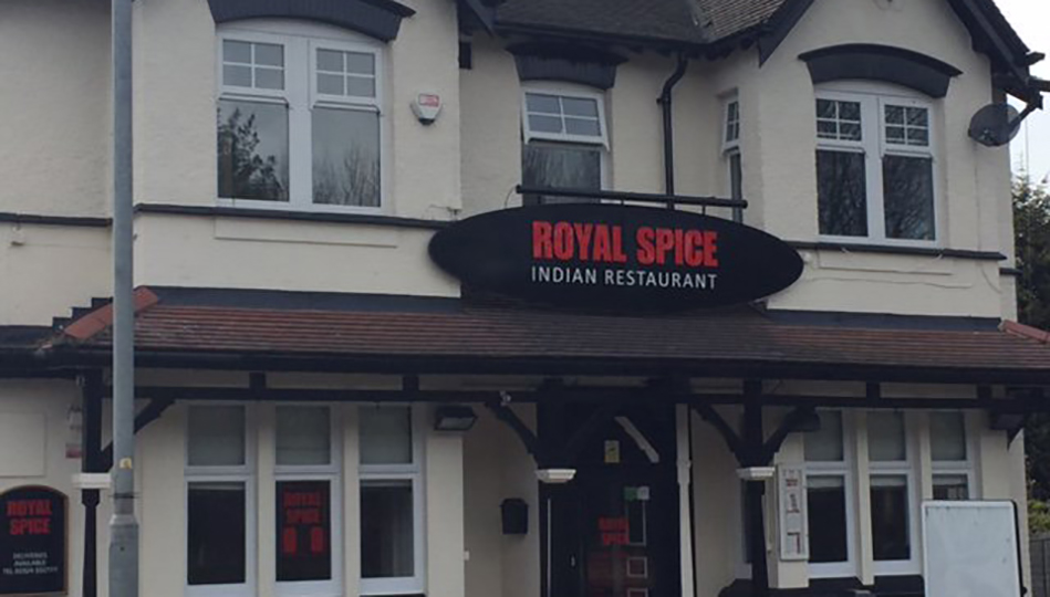 Home The Royal Spice Wakefield